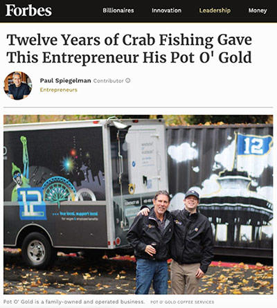 Pot O Gold Featured In Forbes