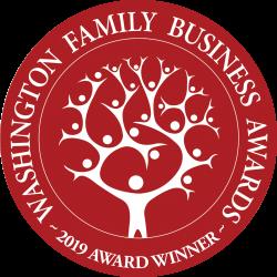 2019 Washington Family Business Award Winner Logo