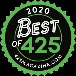 2020 Best Of 425 Magazine Award Winner Logo
